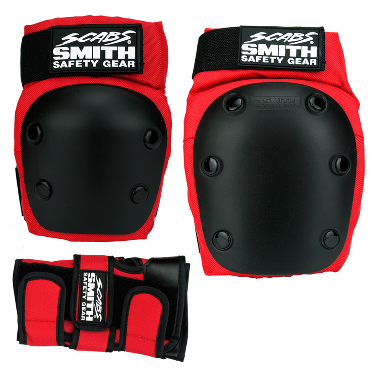 Smith Scabs Adult Pack -Red Small