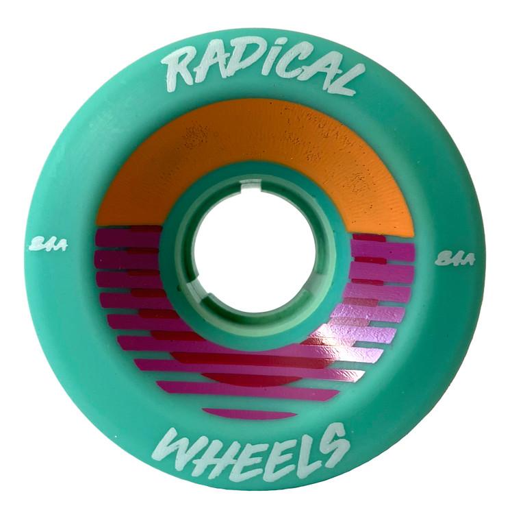 Radical Wheels Sunset Teal 8-Pack