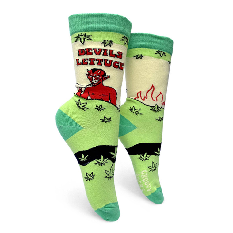 Devils Lettuce Crew Socks