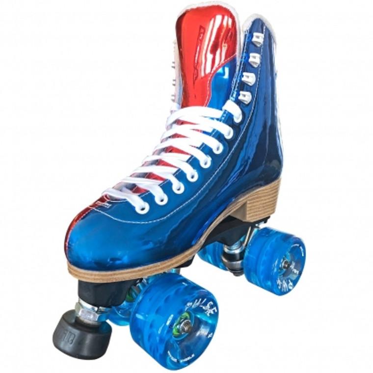 Jackson EVO Skates - Red & Blue