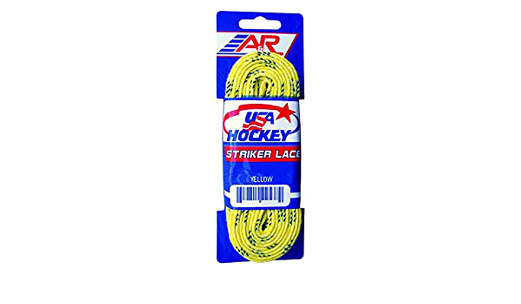 Yellow Hockey Laces 84""