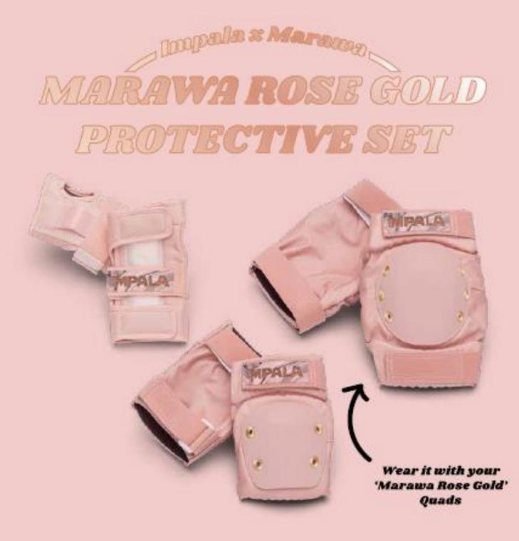 Impala Pads (3-Pack) Marawa Rose Gold