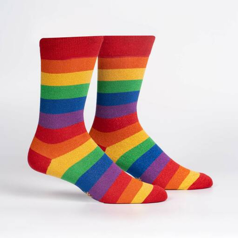 March with Pride Crew Sock - Sock it to Me