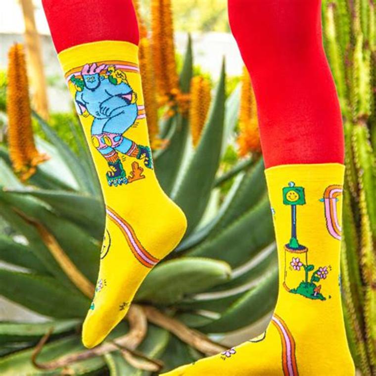 Skate Day Socks