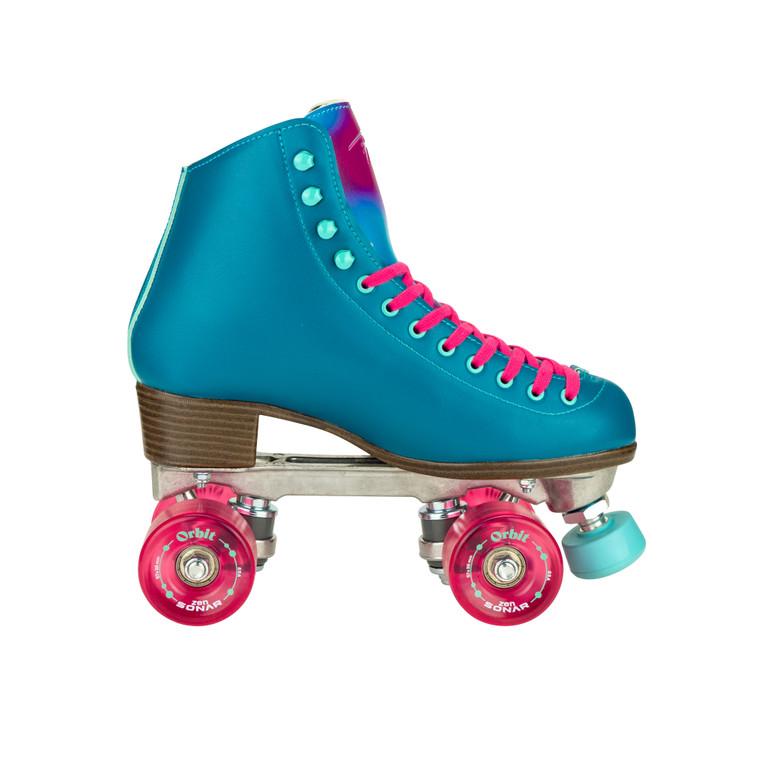 Riedell Orbit Roller Skates - Lagoon (teal)
