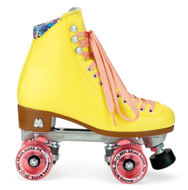 Moxi Beach Bunny Skates - Strawberry Lemonade (Yellow)