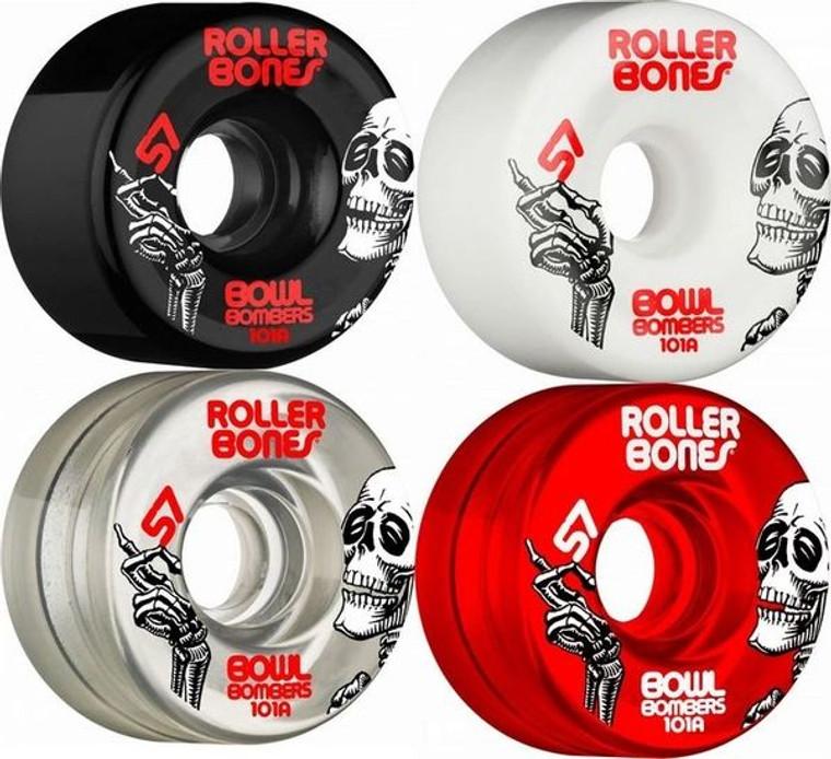 Rollerbones Bowl Bombers Wheels 8-Pack 62mm