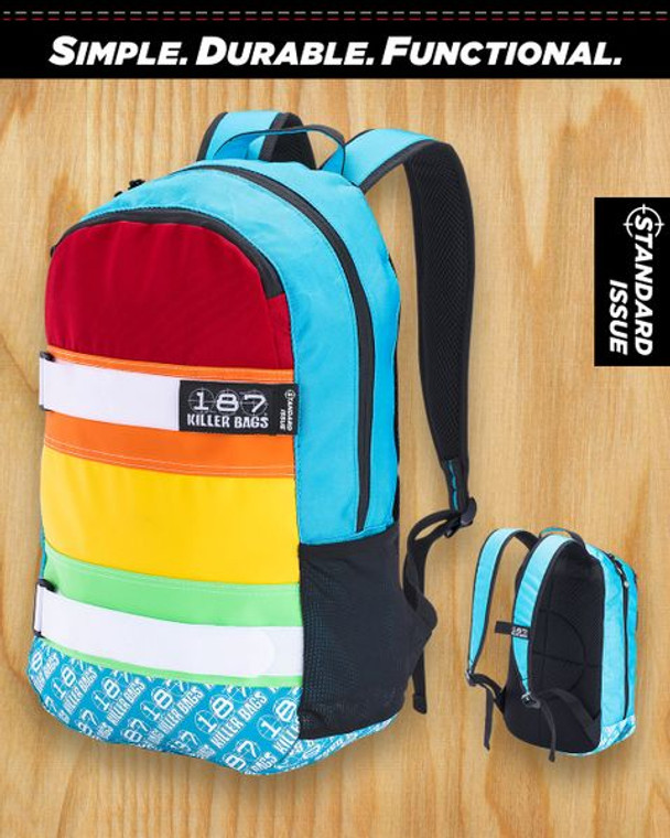The Standard Issue Backpack 187 Rainbow