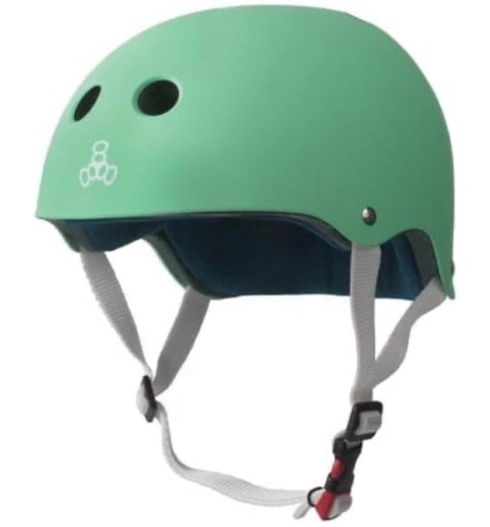 Triple 8 Certified Sweatsaver Helmet - Mint Rubber