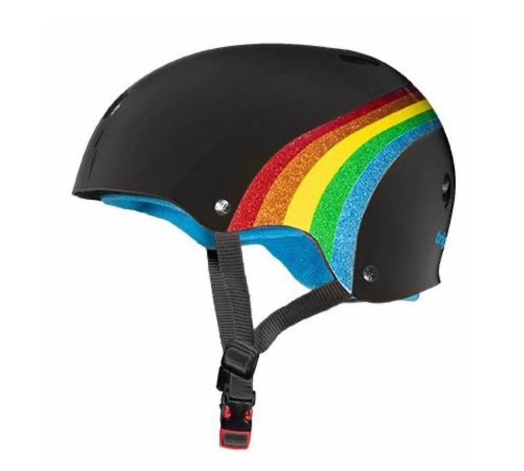 Triple 8 Certified Sweatsaver Helmet - Rainbow