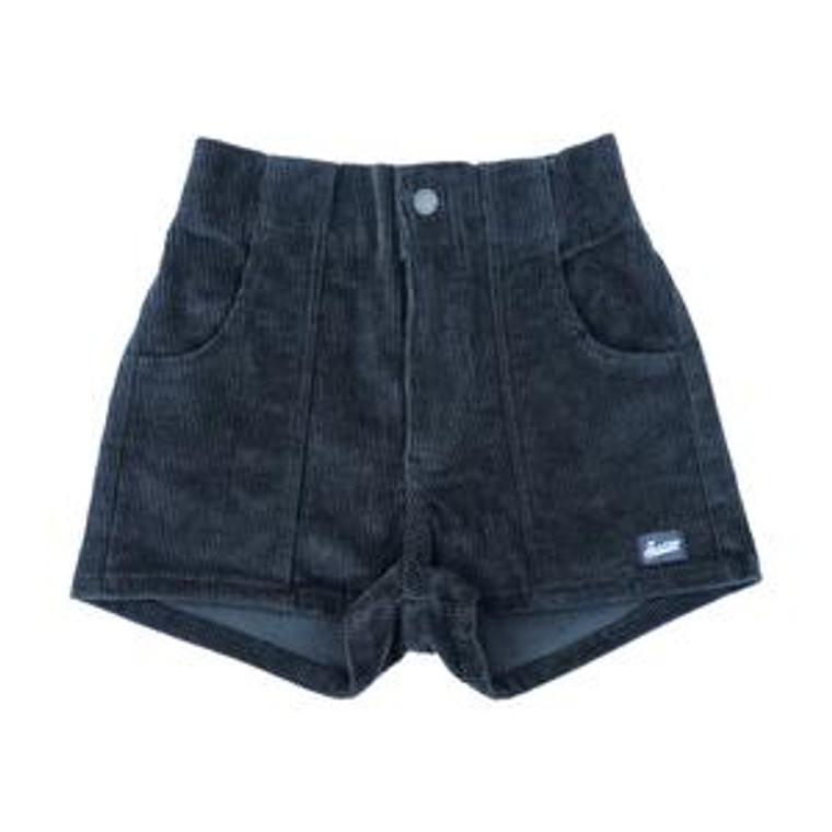Hammies Womens Shorts - Grey (Black)