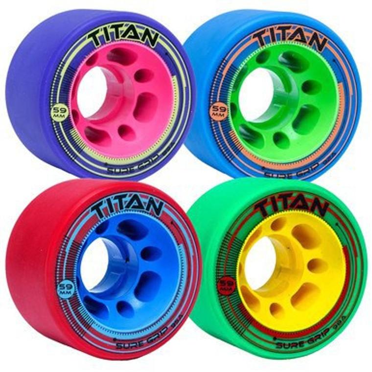 Sure-Grip Titan Wheels 4-Pack