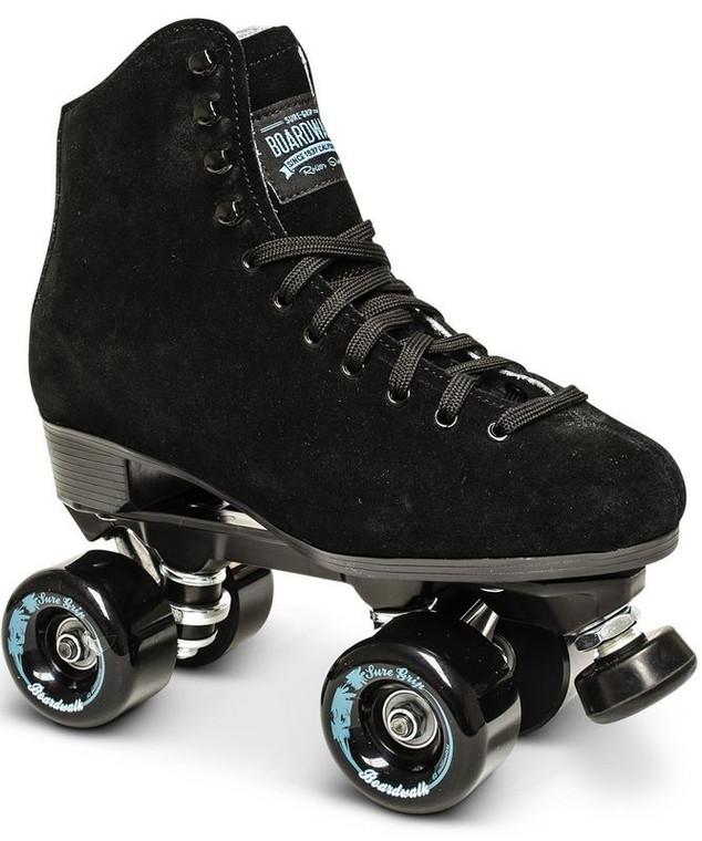 Sure-Grip Boardwalk Outdoor Skates - Black