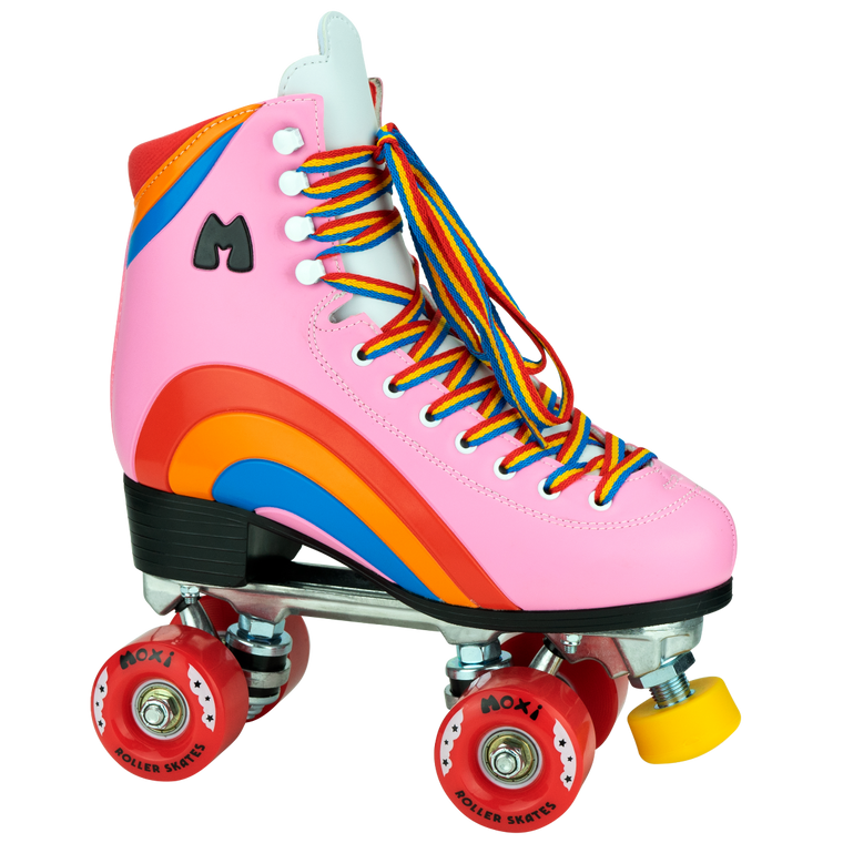 Moxi Rainbow Rider Roller Skates - Pink