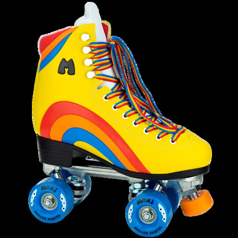 Moxi Rainbow Rider Roller Skates - Yellow