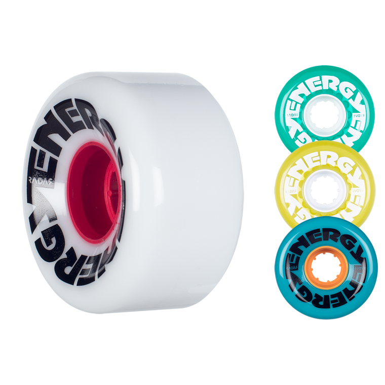 Radar Energy Wheels 62mm (8-Pack)