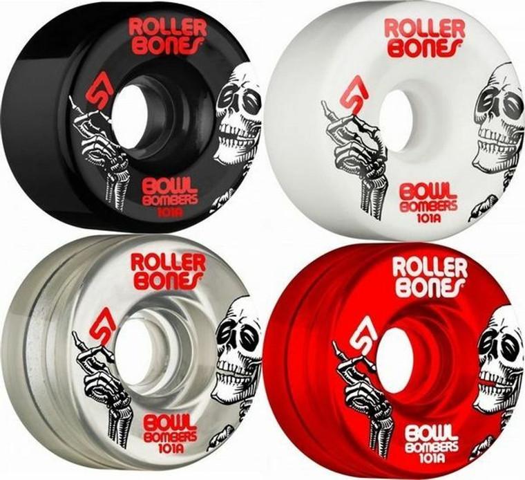 Rollerbones Bowl Bombers Wheels 8-Pack 57mm