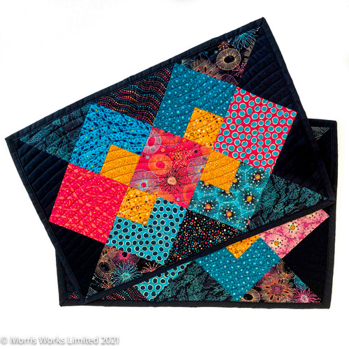 Coral Reef Jewels - Set 2 Placemats. Made from 100% cotton and easy to care for.