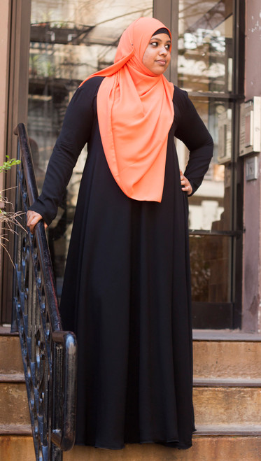 Georgette Hijab - Rectangle (Shayla)