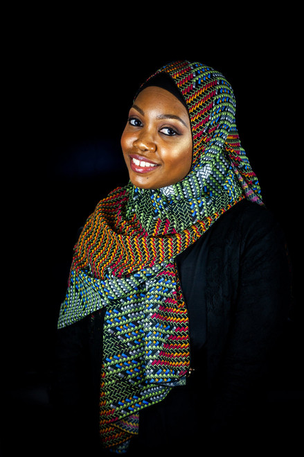African Print Hijabs - Edges (Chiffon)