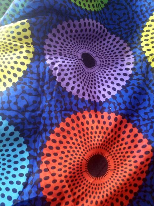 African Print Chiffon Hijab - Color Plates