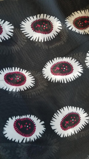 African Print Chiffon Hijab - Spore
