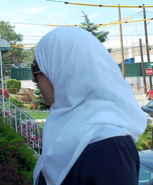 Cotton Gauze Hijab -  White