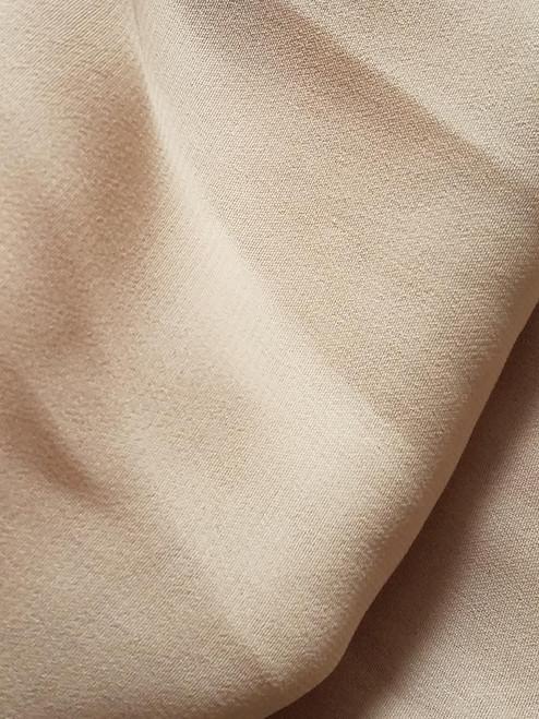 Creamy Beige Chiffon Fabric