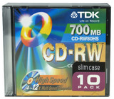 CD-RW (Re-writable)