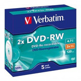 DVD-RW (Re-writeable)