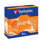 DVD-R in Jewel Cases