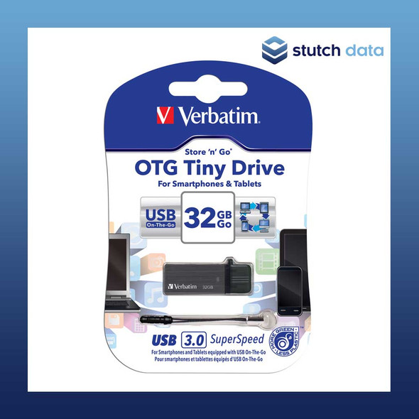 Image of Verbatim Store'n'Go OTG Tiny USB 3.0 Drive 32GB 64497