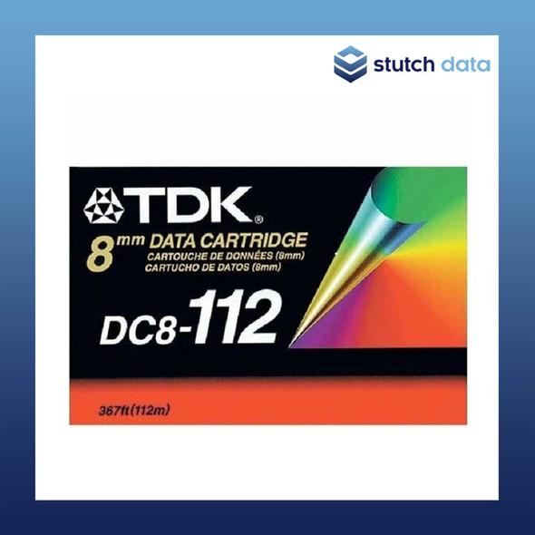 Image of TDK 8mm D8 112M 5GB/10GB Data Cartridge DC8-112N