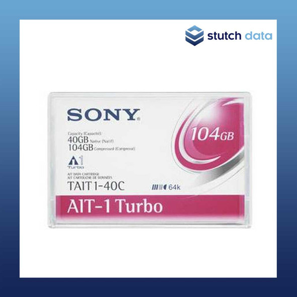Image of Sony AIT-1 Turbo 104GB Data Cartridges TAIT1-40C with Chip
