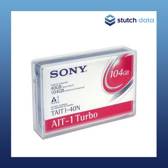Image of Sony AIT-1 Turbo 104GB Tape TAIT1-40N No Chip