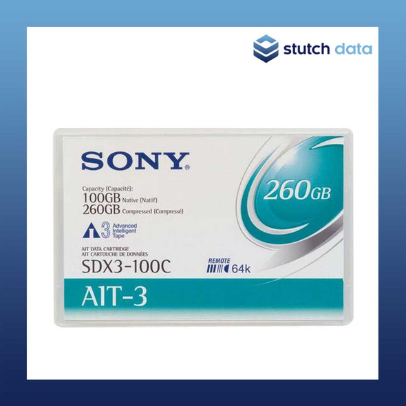 Image of Sony AIT-3 Data Cartridge SDX3-100C with Chip