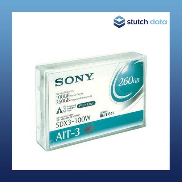 Image of Sony AIT-3 WORM Data Cartridge SDX3-100W
