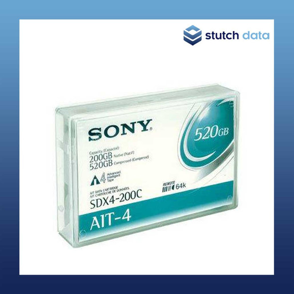 Image of SONY AIT-4 Data Cartridges SDX4-200C with Chip
