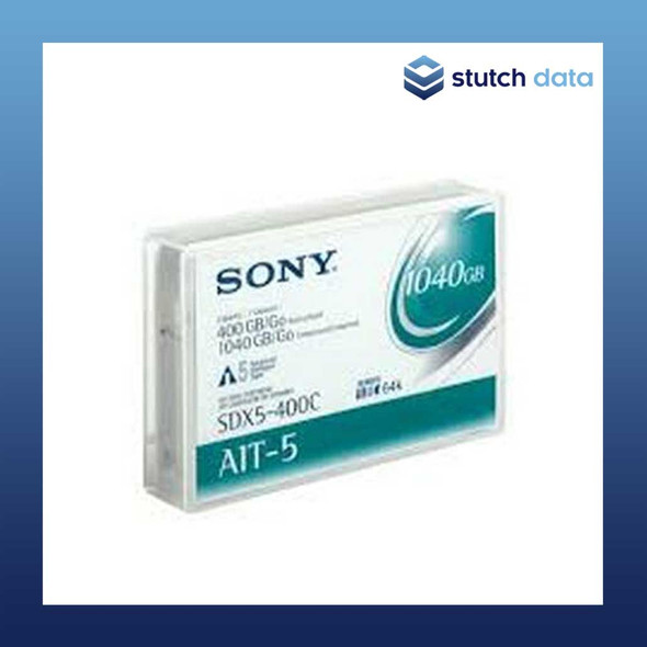 Image of Sony AIT-5 Data Cartridge SDX5-400C with Chip