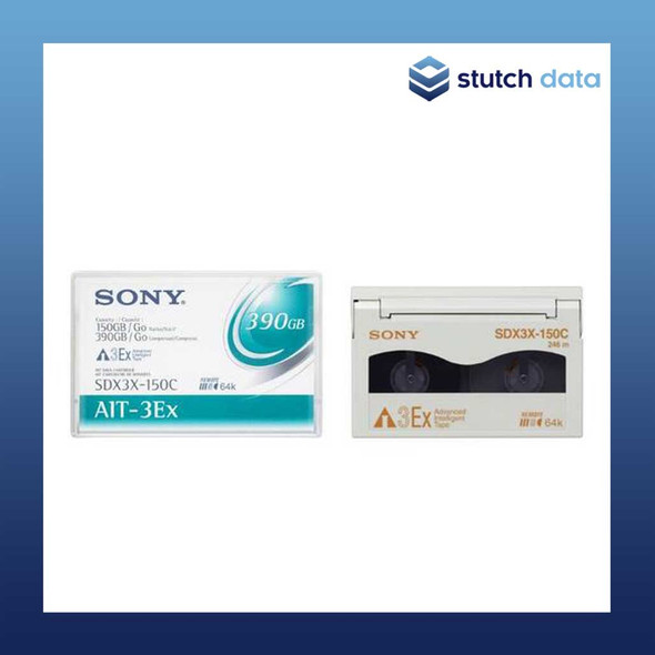 Image of Sony AIT-3EX Turbo Data Cartridge SDX3X-150C with Chip