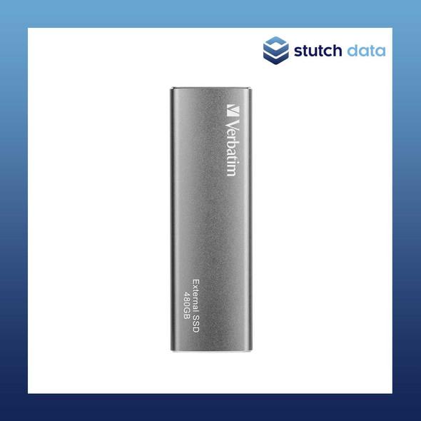 Image of Verbatim Vx500 EXTERNAL SSD Drive 480GB 47443 front view