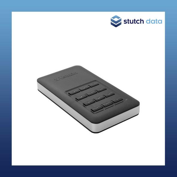 Image of Verbatim USB 3.1 Store'n'Go Secure SSD w/Keypad Access 256GB - Black 53402