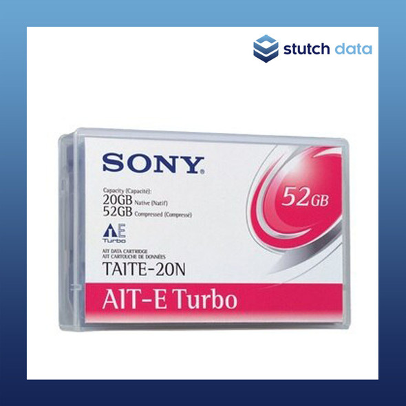 Sony AIT-E Turbo 20GB 52GB Data Cartridge TAITE-20N
