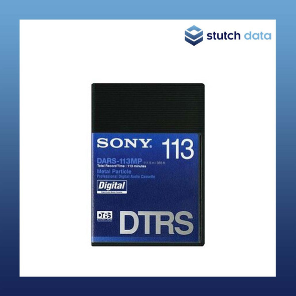 Sony Professional Digital Audio Cassette Metal Particle 113 Minutes DARS-113MP