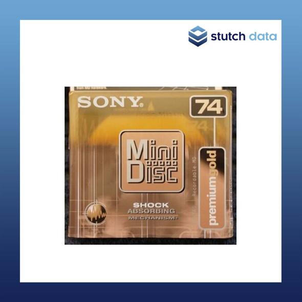 Image of Sony MiniDisc 74 premium gold MDW74D