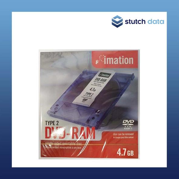 Imation DVD-RAM 4.7GB Type 2 Single Sided Disc