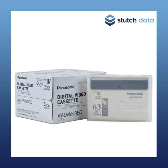 Panasonic Digital Video Cassette Professional Mini DV Studio Quality AY-DVM63SQ