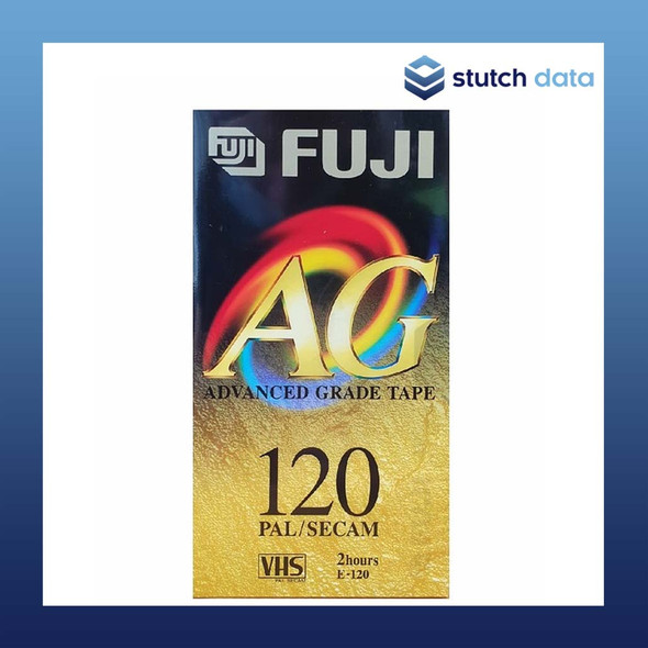 Fuji Advanced Grade VHS Tape 120 minutes E-120
