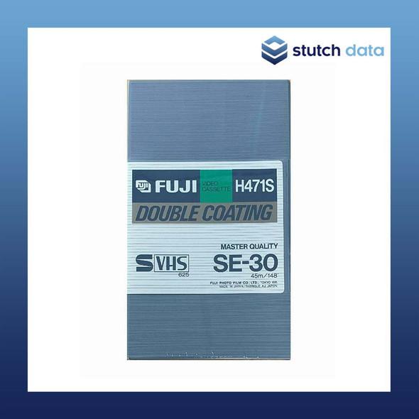 Fuji Master Quality SVHS SE-30 Double Coating Video Cassette Tape 30min