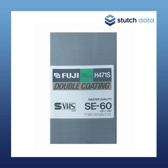 Fuji Master Quality SVHS SE-60 Double Coating Video Cassette Tape 60min